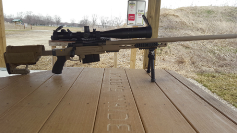 Brent L. rifle