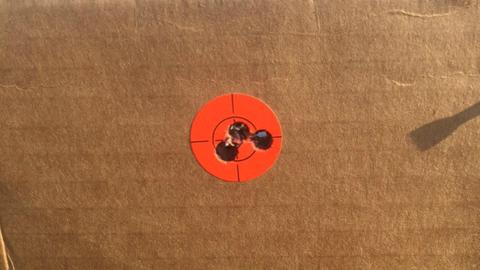 200 YARD target