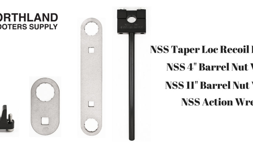 Barrel nut wrench, action wrench, and taper loc recoil lug system