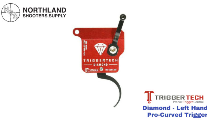 Triggertech Diamond - Left Hand - Pro-Curved Trigger
