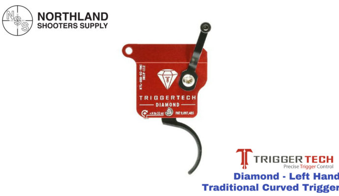 Triggertech Diamond - Left Hand - Traditional Curved Trigger