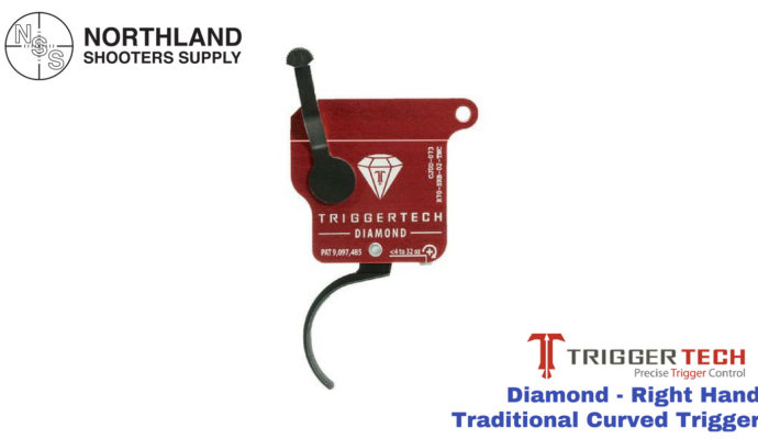 Triggertech Diamond - Right Hand - Traditional Curved Trigger