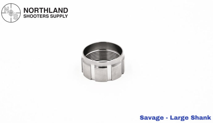 Northland Shooters Supply Squared and Trued Large Shank Barrel Nut