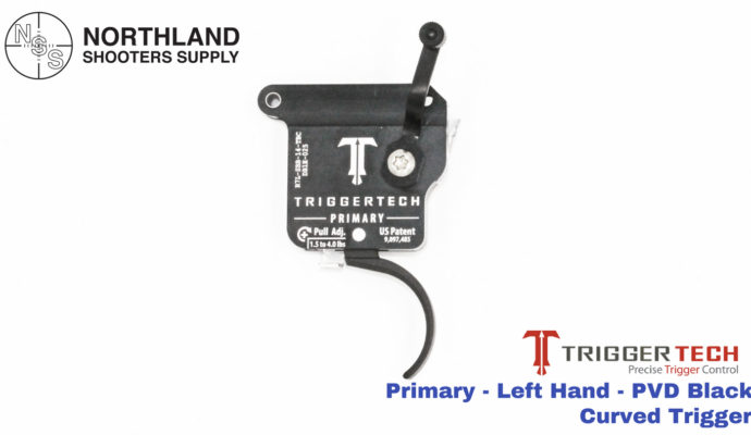 Triggertech Primary - Left Hand - PVD Black - Curved Trigger