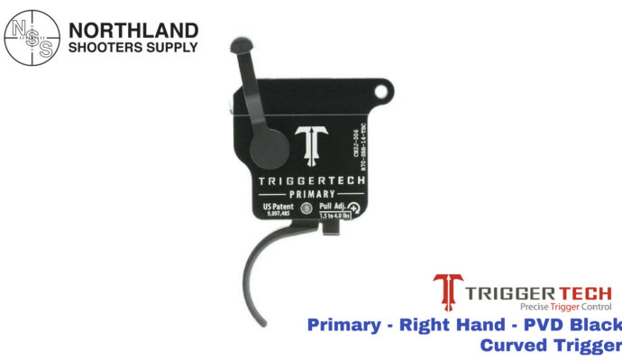 Triggertech Primary - Right Hand - PVD Black - Curved Trigger