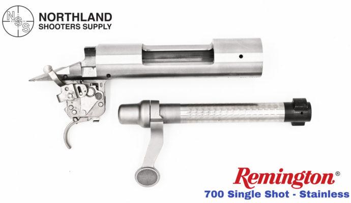 Remington 700 Single Shot - Stainless