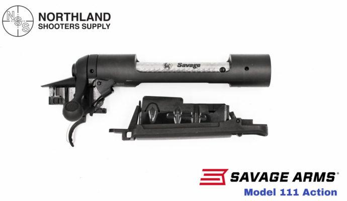 Savage Model 111 Action Blued
