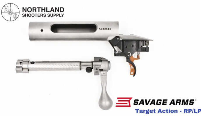 Savage Target Action - Right Bolt - Right Port