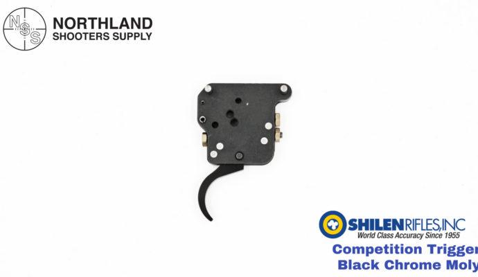 Shilen Competition Trigger - Black Chrome Moly