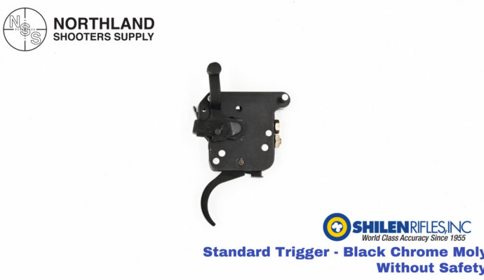 Shilen Standard Trigger - Black Chrome Moly - Without Safety