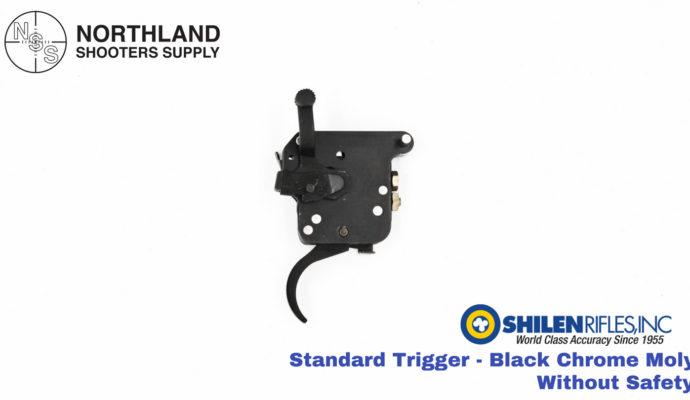 Shilen Standard Trigger - Black Chrome Moly - Without Safety