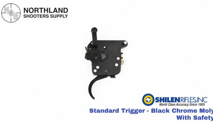 Shilen Standard Trigger - Black Chrome Moly - With Safety