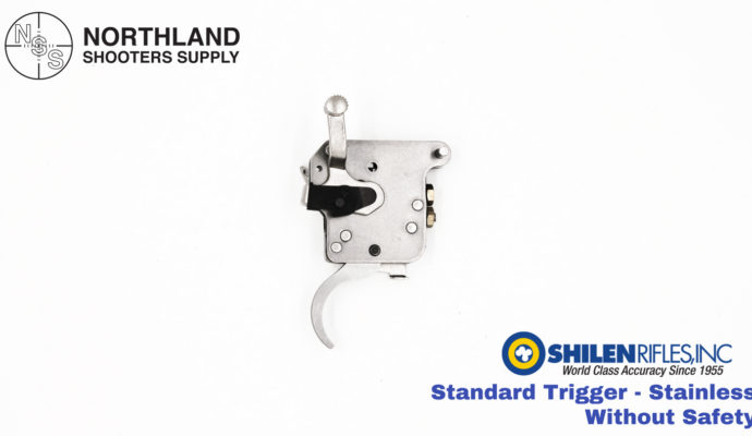 Shilen Standard Trigger - Stainless - Without Safety