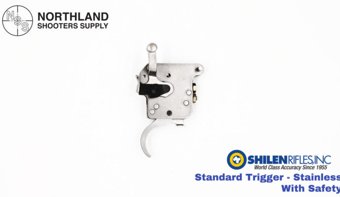 Shilen Standard Trigger - Stainless - With Safety
