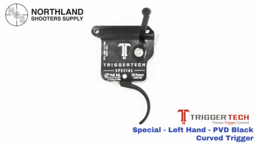 Triggertech Special - Left Hand - PVD Black - Curved Trigger
