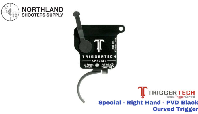 Triggertech Special - Right Hand - PVD Black - Curved Trigger