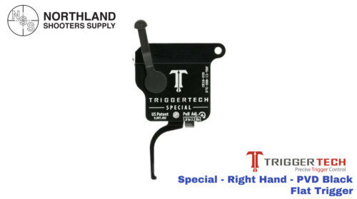 Triggertech Special - Right Hand - PVD Black - Flat Trigger