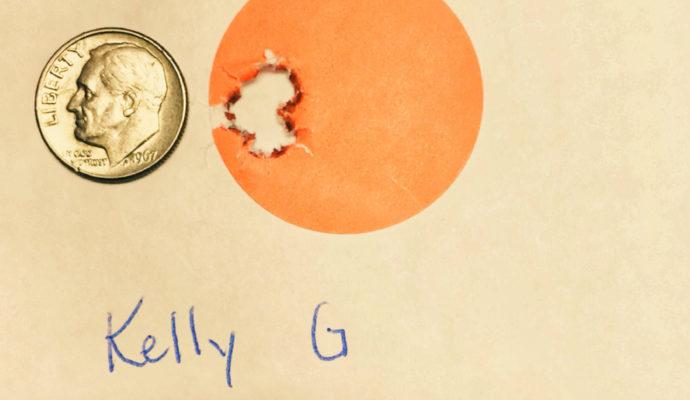 Kelly G. 3 shots at 100 yards