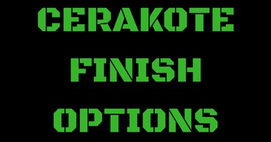Cerakote Finish Options