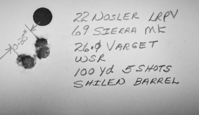 James H. 22 Nosler Shilen Build
