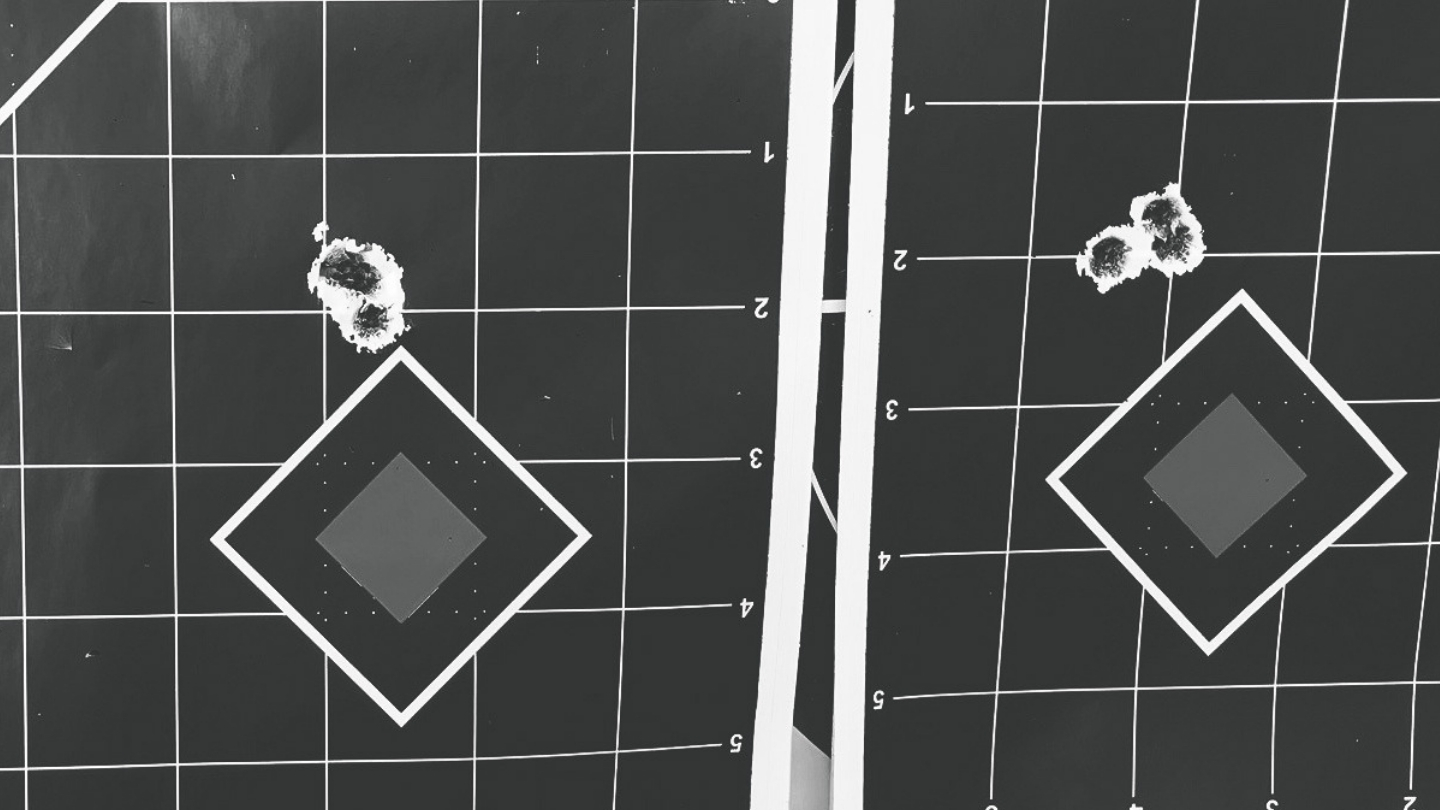 Jordan M targets with 300 FTR build