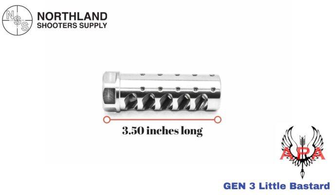 American Precision Arms Gen 3 Fat bastard Muzzle Brake