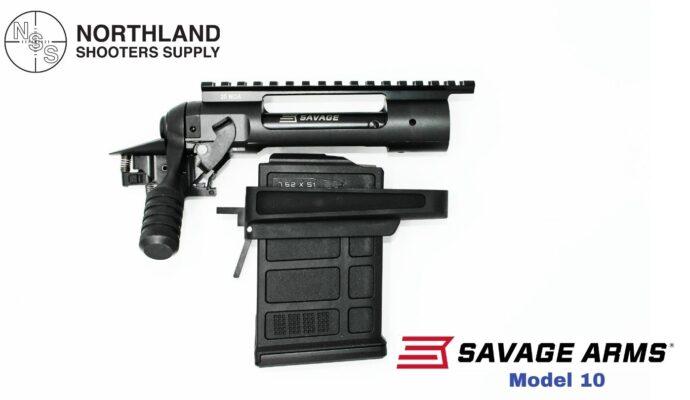 Savage Arms Model 10 w/ AICS Magazine