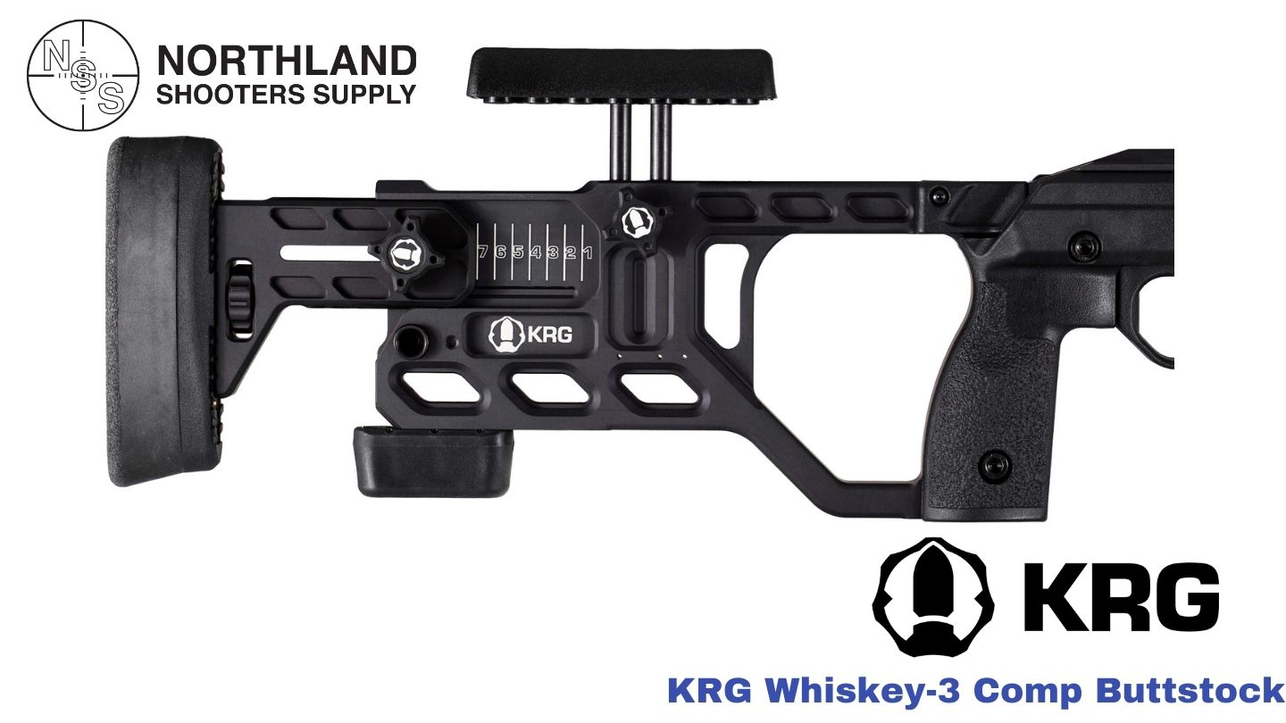 This image has an empty alt attribute; its file name is KRG-Whiskey-3-Comp-Buttstock.jpg