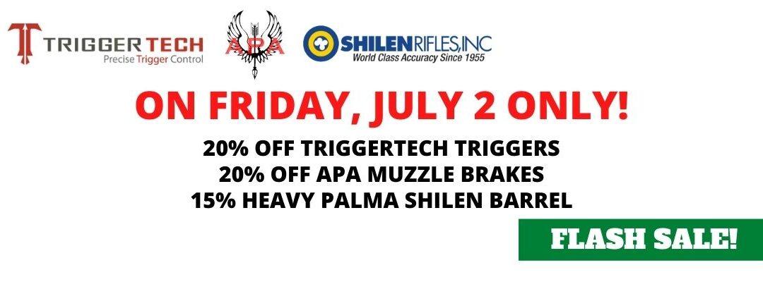 July 2 Flash Sale