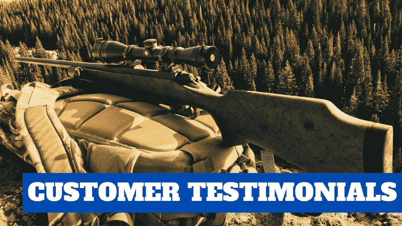 Northland Shooters Supply Customer Testimonials