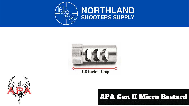 American Precision Arms GEN II Micro Bastard - Northalnd Shooters Supply