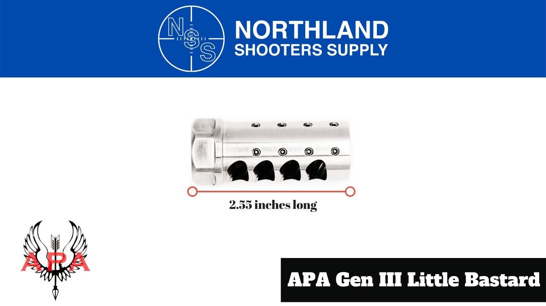 American Precision Arms GEN III Little Bastard - Northalnd Shooters Supply