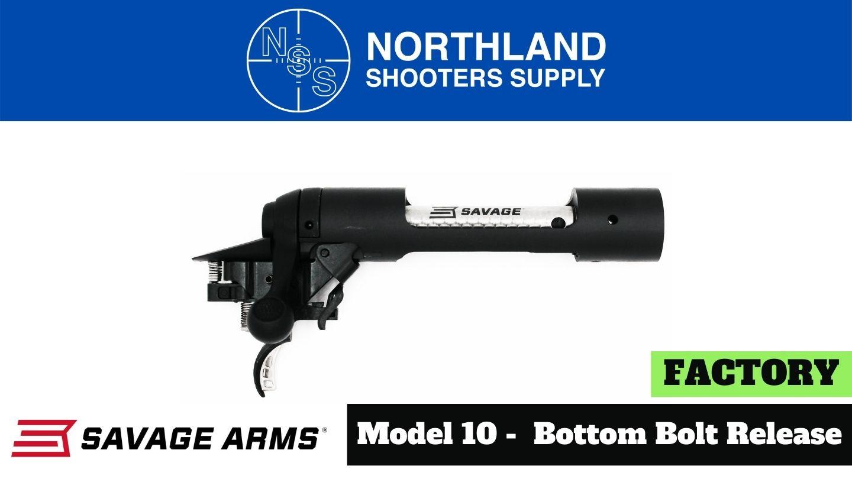 Savage Model 10 Bottom Bolt Release