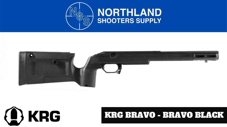 Kinetic Research Group (KRG) Bravo Chassis - Bravo Black