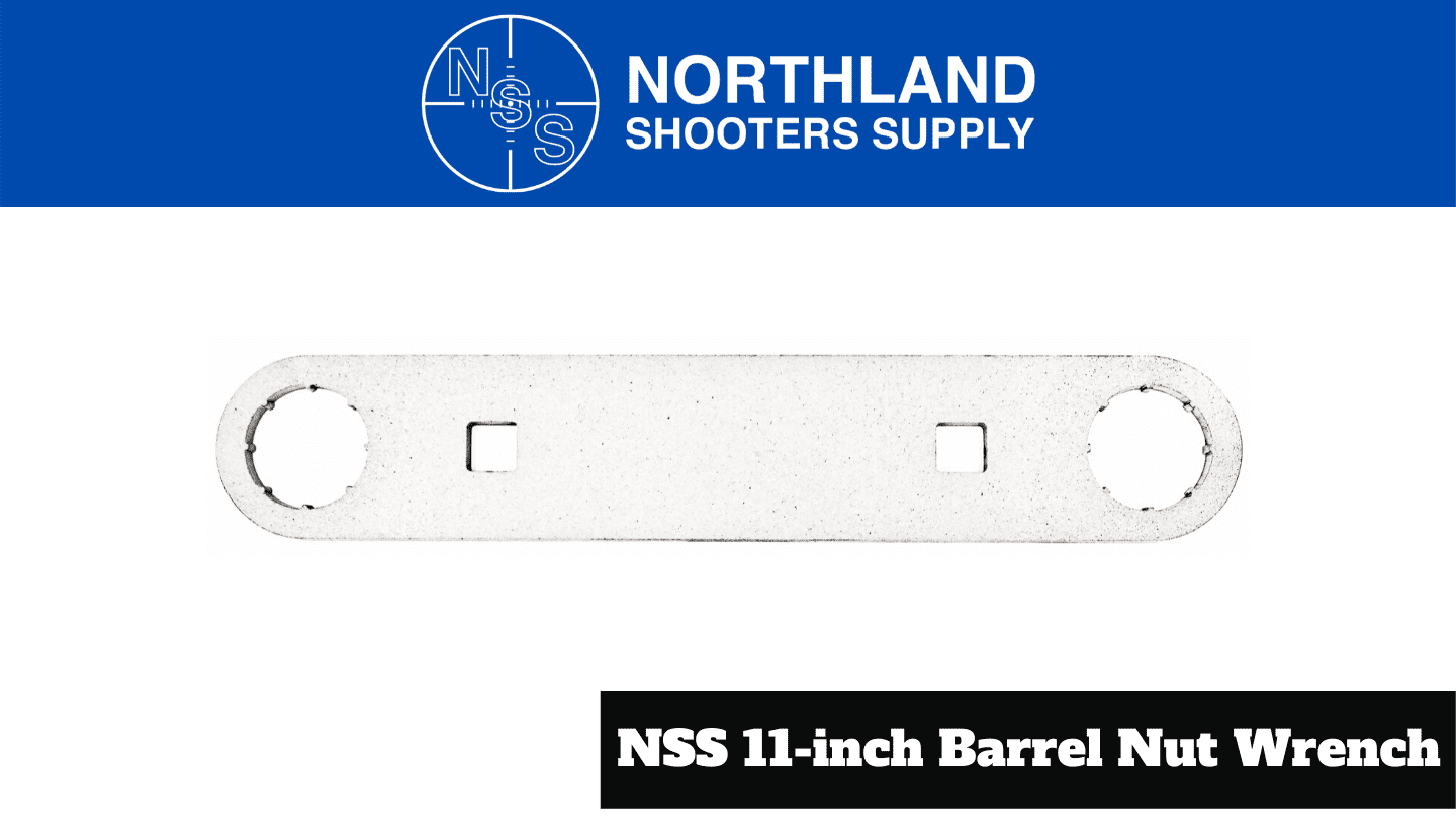 Northland Shooters Supply NSS 11-Inch Barrel Nut Wrench