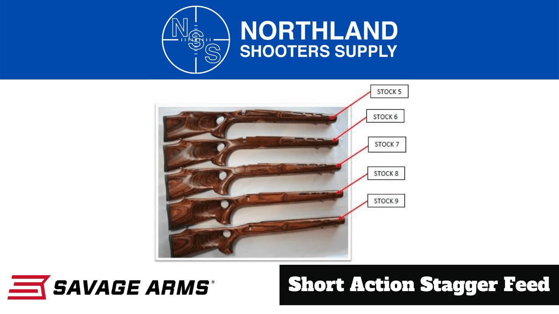 Savage Short Action Stocks