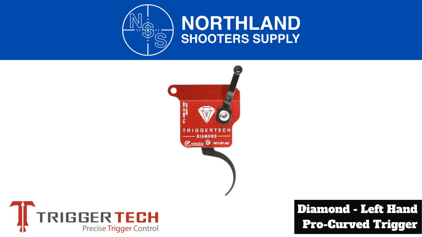 Northland Shooters Supply (NSS) has TriggerTech Diamond Left Hand Pro Curved Triggers