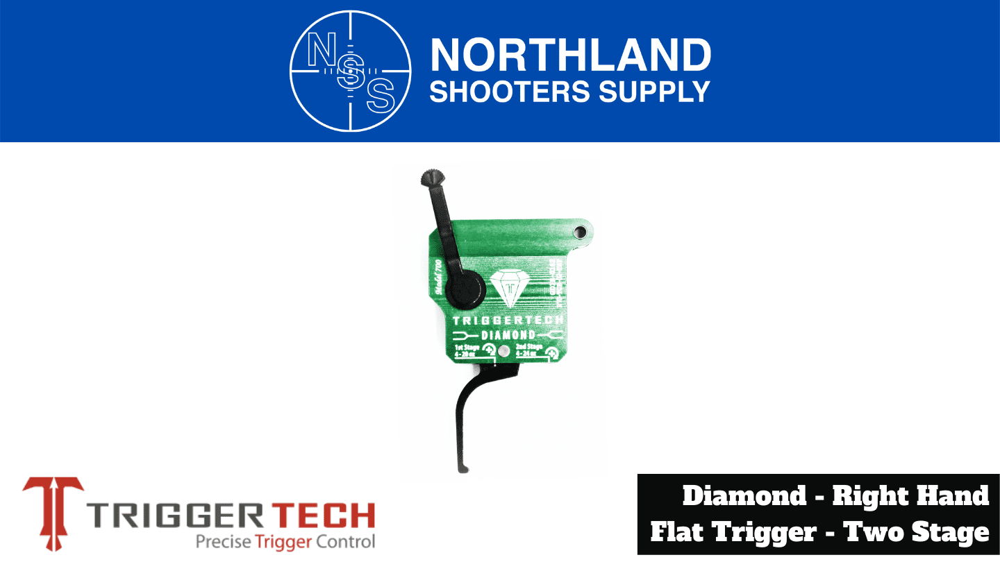 Northland Shooters Supply (NSS) has TriggerTech Diamond Right Hand Flat Triggers Two Stage