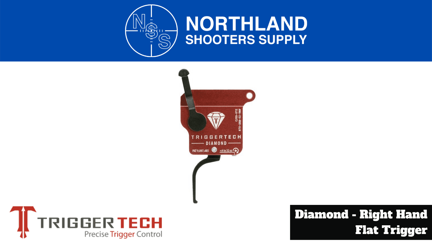 Northland Shooters Supply (NSS) has TriggerTech Diamond Right Hand Flat Triggers