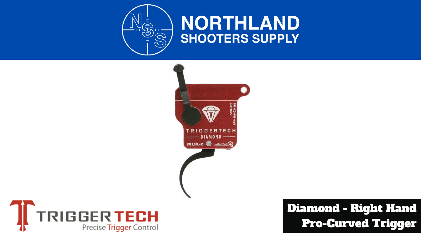 Northland Shooters Supply (NSS) has TriggerTech Diamond Right Hand Pro Curved Triggers