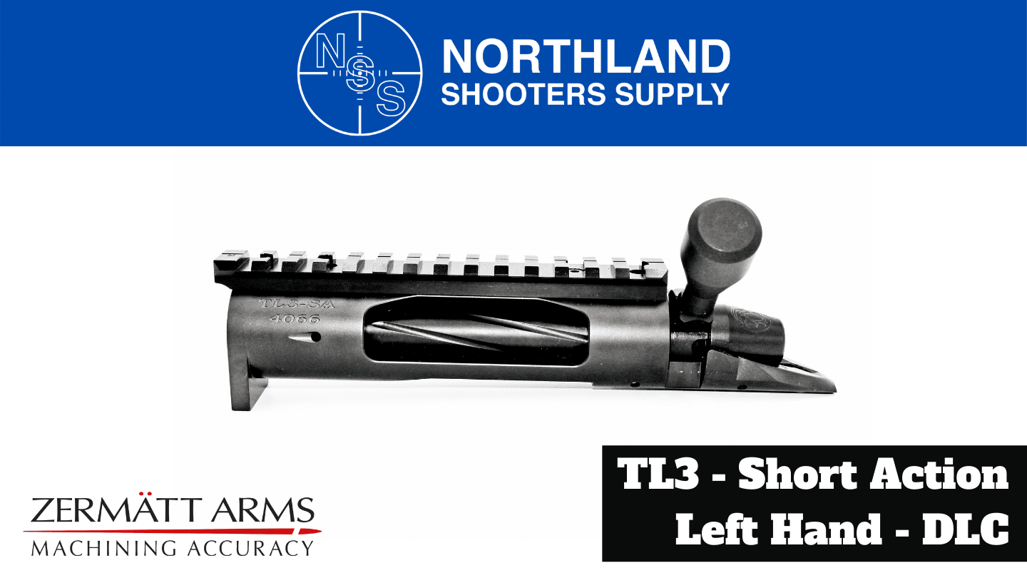 Northland Shooters Supply (NSS) offers the TL3, SR3, and Origin Actions from Zermatt Arms/Bighorn Arms