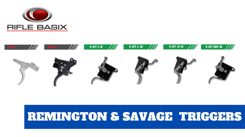 Northland Shooter Supply has Rifle Basix Remington and Savage Triggers